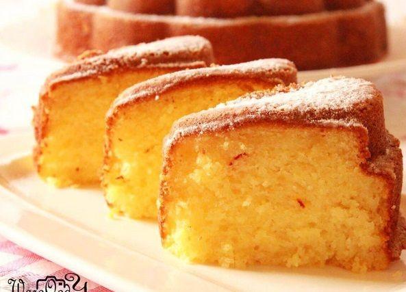 طريقة عمل كيكة الزعفران كيك هش و لذيذ و مكونات بسيطة المكونات 2 كوب دقيق كوب سكر م ك بيكنج باودر 1 2 كوب حليب بودرة 1 4 ك Food Desserts Recipes