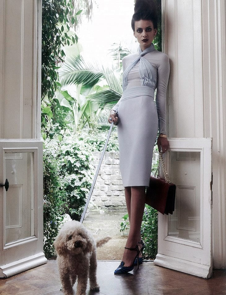 Paula Marcina photographed by Kim Myers Robertson for Marie Claire UK December 2012