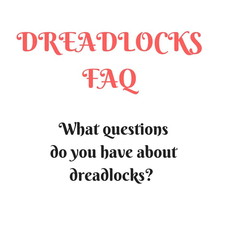 I get phone calls, emails and messages daily when it comes to dreadlocks.   What I noticed is that alot of dreadheads have the similar dreadlock questions. So I want to start to make small faq dreadlocks videos for all of you to answer your dreadlock questions.  Today I want to know what questions do you have about your dreadlocks? All will be posted here:  Remember t…