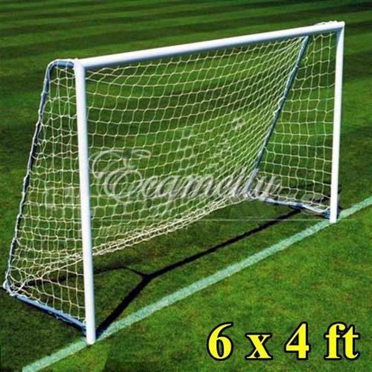 New Full Size 6 x 4FT Football Soccer Goal Post Net 1.8m x 1.2m Sports Match Training Junior Polypropylene Fiber Net - http://sportsgearmall.com/?product=new-full-size-6-x-4ft-football-soccer-goal-post-net-1-8m-x-1-2m-sports-match-training-junior-polypropylene-fiber-net