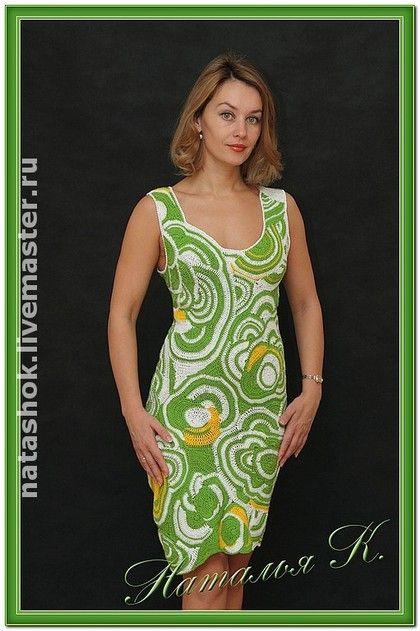 В ожидании лета! - платье,100% мерсеризованный хлопок