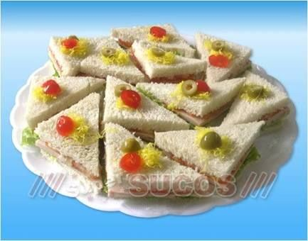 mini sanduiches para festas - Pesquisa Google                              …