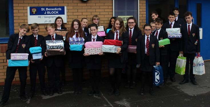 St Benedict's students come together to donate to local charity appeal http://www.cumbriacrack.com/wp-content/uploads/2017/11/Students-ready-to-handover-the-boxes.jpg Students, staff and families of St Benedict's School in Whitehaven have helped make some children very happy for Christmas, by taking part in the Shoebox Appeal    http://www.cumbriacrack.com/2017/11/13/st-benedicts-students-come-together-donate-local-charity-appeal/