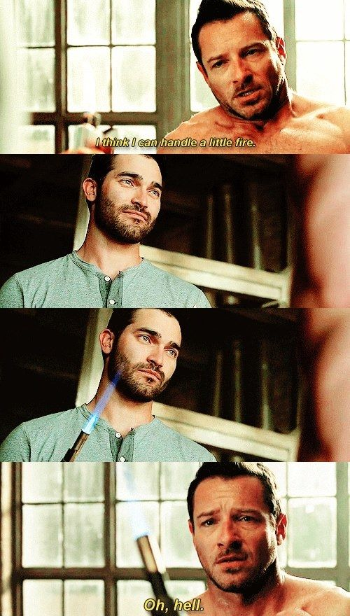 "S4 Ep4 ""The Benefactor"" - Derek and Peter... Is it just me, or does Derek look a little too happy?"