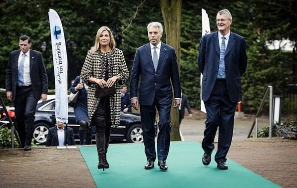 Queen Maxima attends the meeting of the GABV