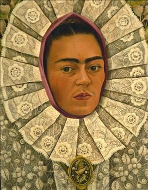 Frida Kahlo..#self #portrait