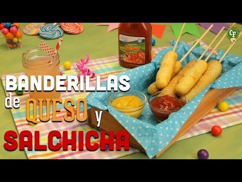 ¿Cómo preparar Banderillas de Queso y Salchicha para tus pequeños? - YouTube  | #CocinaFresca es presentada por Walmart ¡Suscríbete!