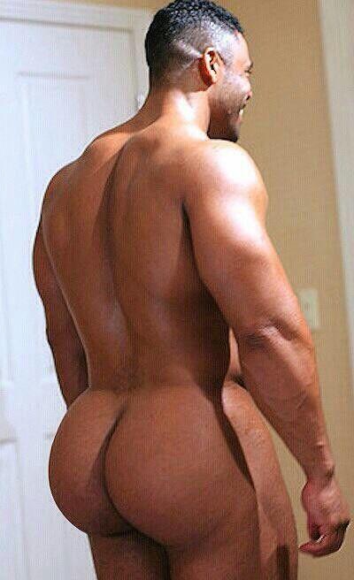 big fat naked black man