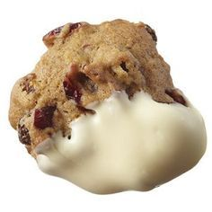 Cranberry fruitcake cookie