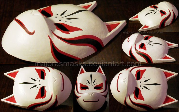 Custom Kakashis ANBU mask | COMMISSION by =MajorasMasks on deviantART