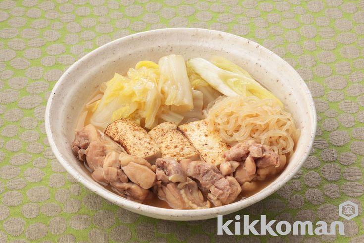 白菜の鶏すき煮のレシピをご紹介。鶏肉と白菜と豆腐を使って簡単お手軽に調理できます。炒め物や煮物から揚げ物まで様々な献立レシピを簡単検索!お弁当や健康(ダイエット)レシピもご用意しています。キッコーマンのレシピサイト【ホームクッキング】