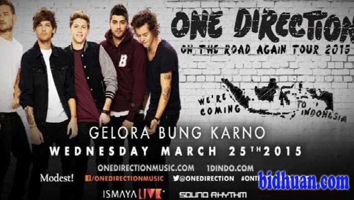 Siaran Langsung-Live Streaming Konser One Direction di Otra