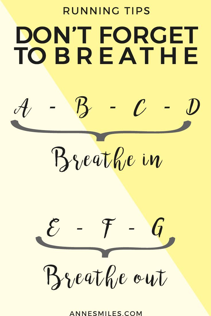 Running tips: Don't forget to breathe || Quick tips that will help you improve…
