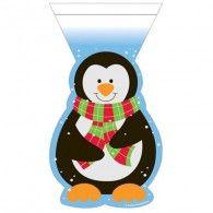 Penguin Shaped Treat Bag with Zipper, Pkt12, $7.50, 20073503