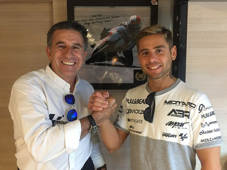 From Vroom Mag... Alvaro Bautista to remain with Aspar in 2018