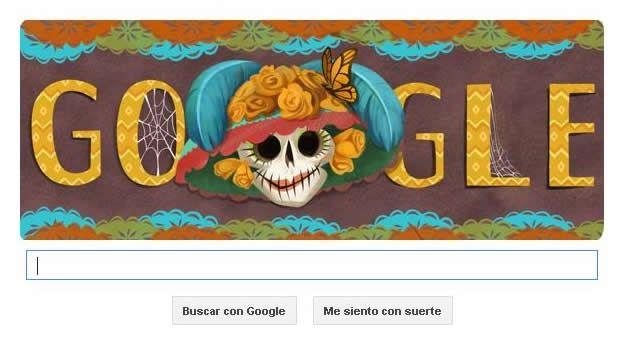 Google celebra el Día de Muertos con un 'doodle' de 'La Catrina' - Tecnología - CNNMexico.com