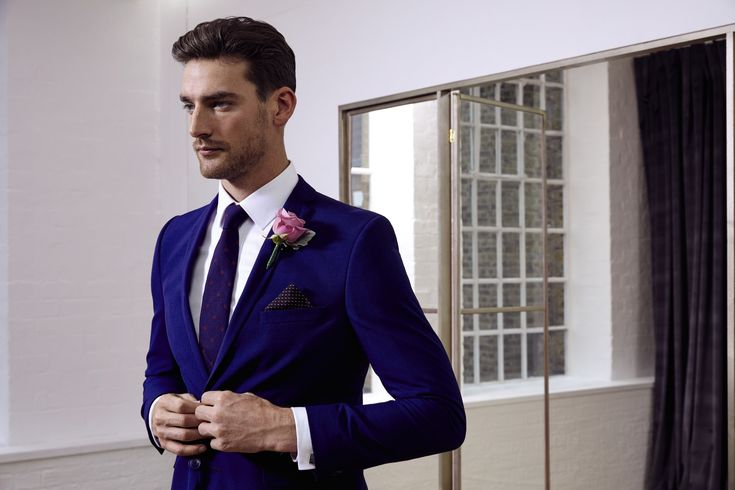 Look your very best on the big day with our range of sophisticated suits.