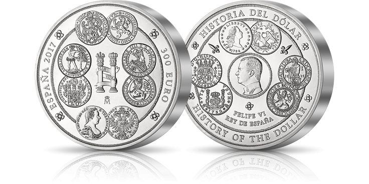 hiszpańska srebrna moneta o wadze 1 kg