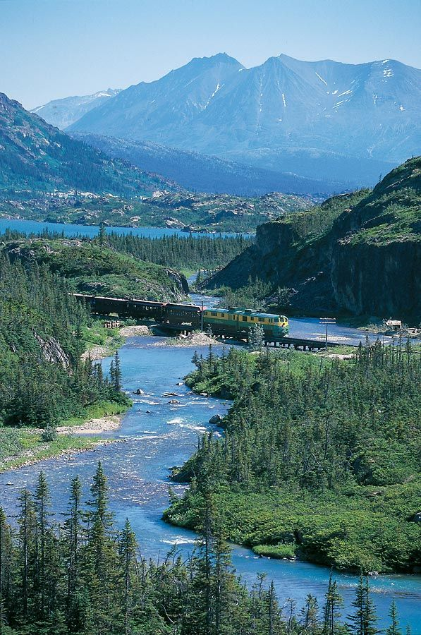 Ride the White Pass  Yukon Route Railroad. Skagway, Alaska -One of the most amazingly beautiful things I've ever seen. HIGHLY recommend!