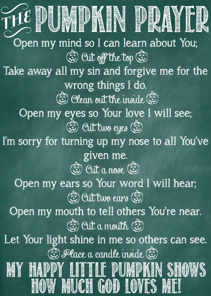 Such a sweet, meaningful idea! Use pumpkin-carving to illustrate God's love with this free poem and printable from Positively Splendid.