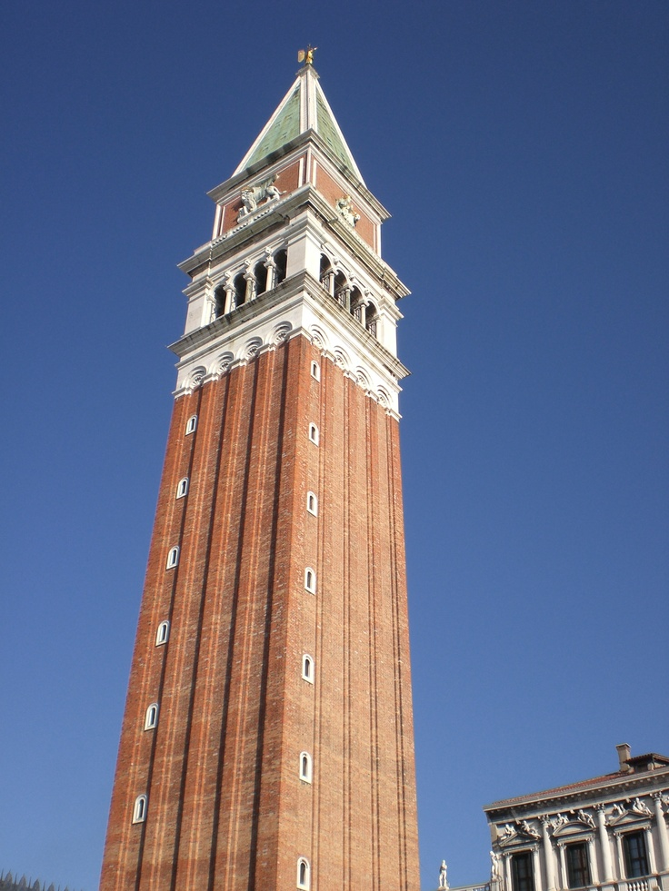 Bell Tower Venice Italy Our Travels My Photographs Venice Travel Us Travel