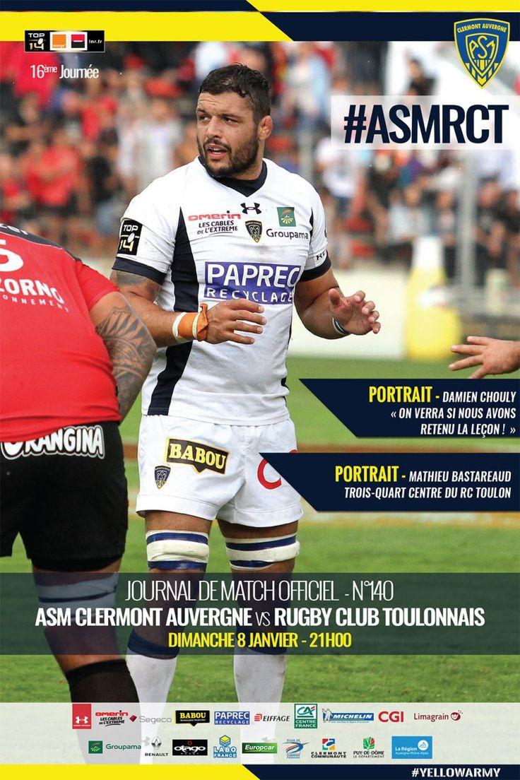 LE JOURNAL DE MATCH EST EN LIGNE, DAMIEN CHOULY À LA UNE ! 08/01/2017 - 16h01