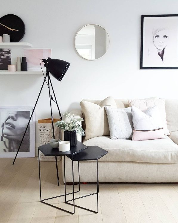 Love the blush pink and grey colour combo as much as us? We've curated 5 ways to introduce this colour palette into your living room. From Scandinavian style to hints of metallic, there's sure to be a look you'll love. See the full post >>