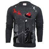 Mens Merry Xmas Christmas Jumper Knit Sweater Novelty Santa Elf- http://www.siboom.co.uk/search.php?k=sweaters+man&ppa=4 Mens Jumpers by Merry Xmas  Sleeve Type Long Sleeve  Neckline Crew Neck    Product Group Apparel  Publisher Merry Xmas