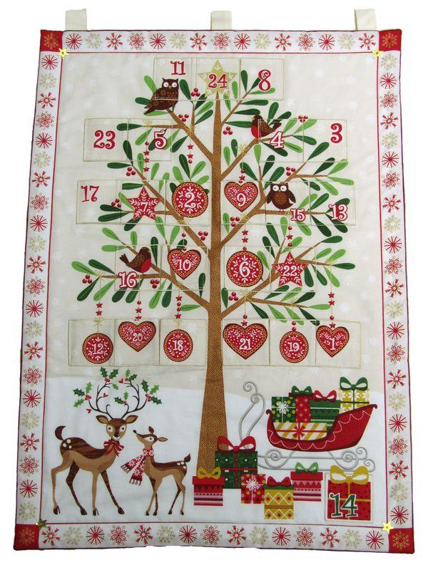 2017 Reindeer Tree Advent Calendar