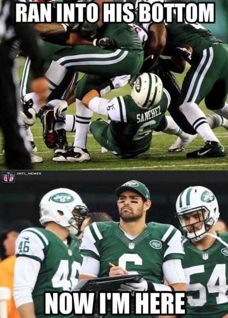 NFL meme: Mark Sanchez   NFL/NBA memes   Pinterest   Mark ...