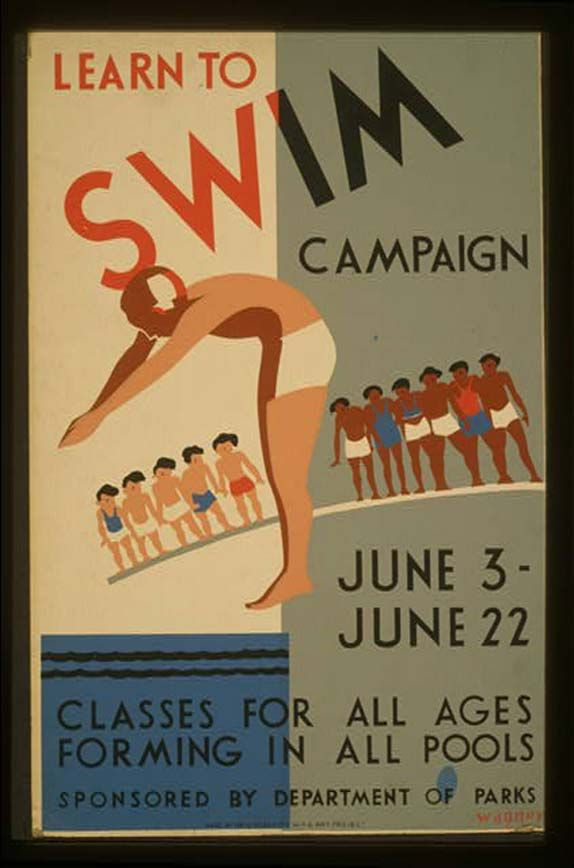 Google Image Result for http://9bytz.com/wp-content/uploads/2012/01/Learn-to-Swim-by-Department-of-Parks-WPA-Poster.jpg