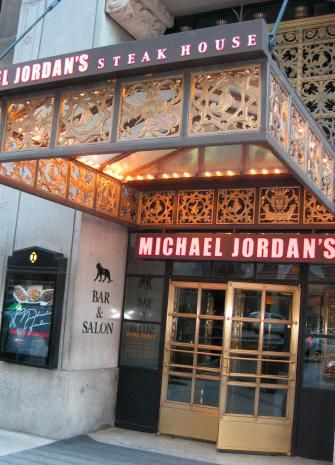 Michael Jordan' steakhouse - Chicago. Incredible steaks in a one-of-a-kind atmosphere