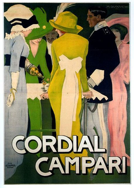 Marcello Dudovich (1878-1962) by Art & Vintage, via Flickr, luv colours