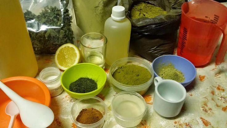 Cuidado y Coloración Capilar con Henna y Plantas como