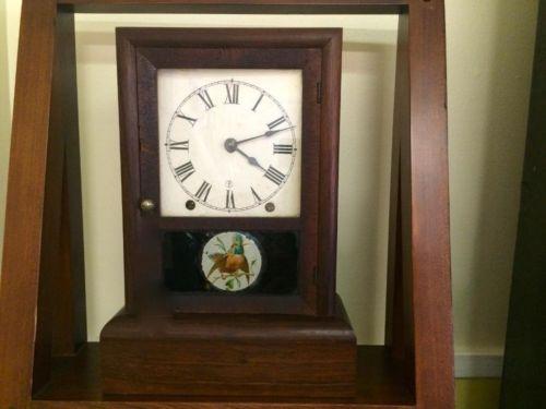 Rosewood American Empire Clock   $75  Butler Creek Antiques Dealer #8804  Lucas Street Antiques 2023 Lucas Dr. Dallas, TX 75219  Read more: http://dallas.ebayclassifieds.com/home-decor/dallas/rosewood-american-empire-clock/?ad=39245887#ixzz3Zy0TkbIu