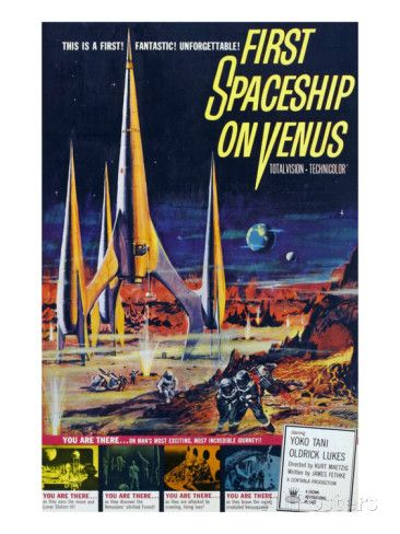 First Spaceship On Venus, 1962 Prints at AllPosters.com