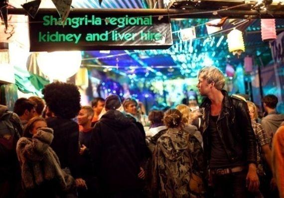Glastonbury Festivals - Areas - The Alleys - Nanos