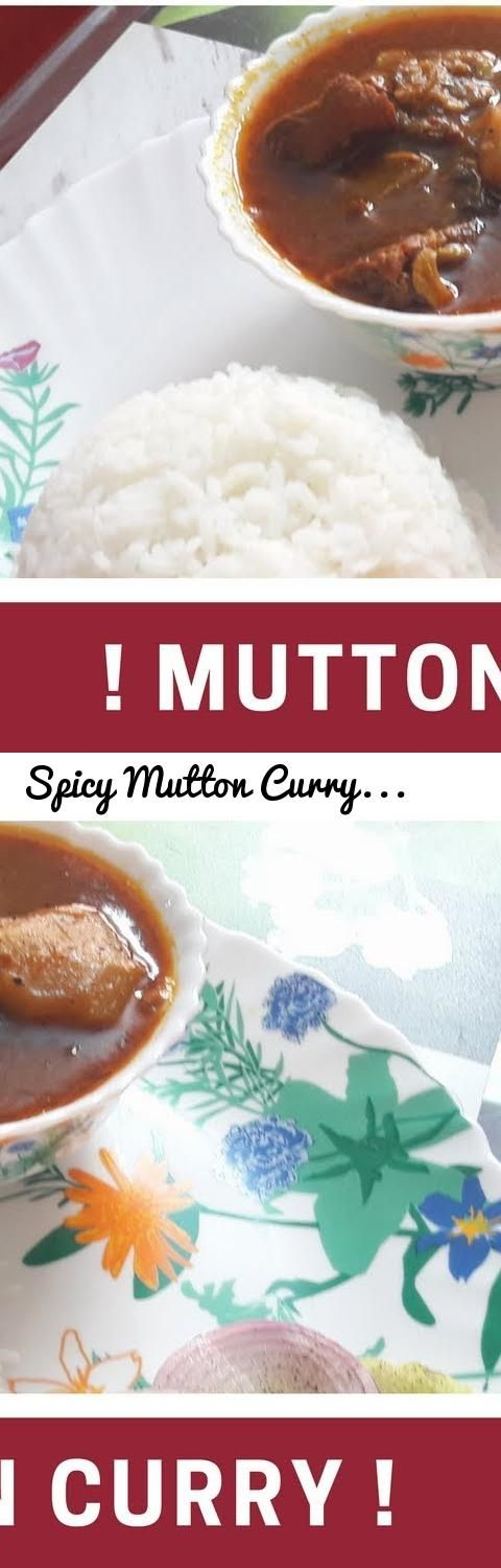 Spicy Mutton Curry Recipe | Red Meat Curry... Tags: mutton curry, how to make mutton curry, mutton curry recipe, curry, mutton curry recipe in hindi, mutton recipe, mutton curry restaurant style, mutton curry / naadan spicy mutton gravy - indian mutton gravy, mutton curry recipe by sanjeev kapoor, spicy mutton curry, recipe, indian mutton curry, kerala mutton curry, dhaba style mutton curry, lamb curry, mutton curry recipes, chettinad mutton curry, punjabi mutton curry, dhabha style mutton…