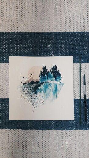 Mavi mi güzel, yoksa Hissettirdiği mi #art
