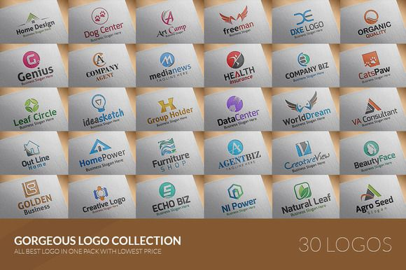 30 Logos Pack - 95% Off by BDThemes Ltd on Creative Market