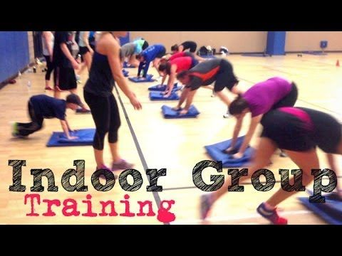 Group Training - Intense Full body Exercise