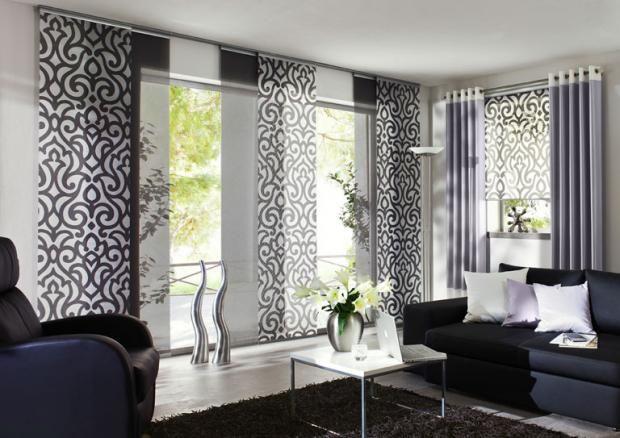 Passende Schiebegardinen Fur Jedes Fenster Gardinen Wohnzimmer Vorhange Wohnung Gestalten