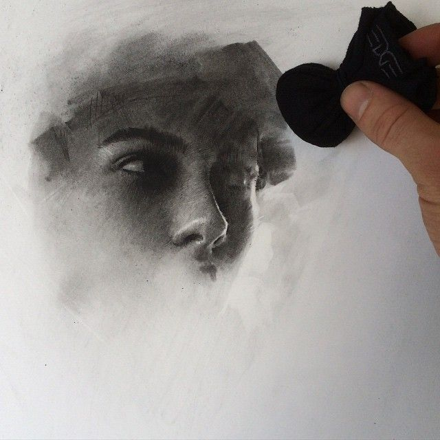 Instagram media by caseybaugh - Charcoal beginnings. Using the Charcoal Sachet by @edgeprogear to build the foundation of values. ➰ #art #charcoal (Visit edgeprogear.com for more charcoal sachet info)