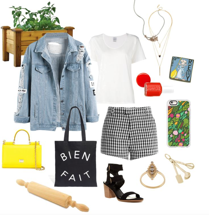 4 LA Street Style Outfits Inspired by Disney•Pixar Films | summer Ratatouille-inspired fashion | [ http://di.sn/6000BfXky ]