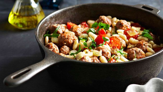 Cannellini beans with sausage recipe - 9Kitchen