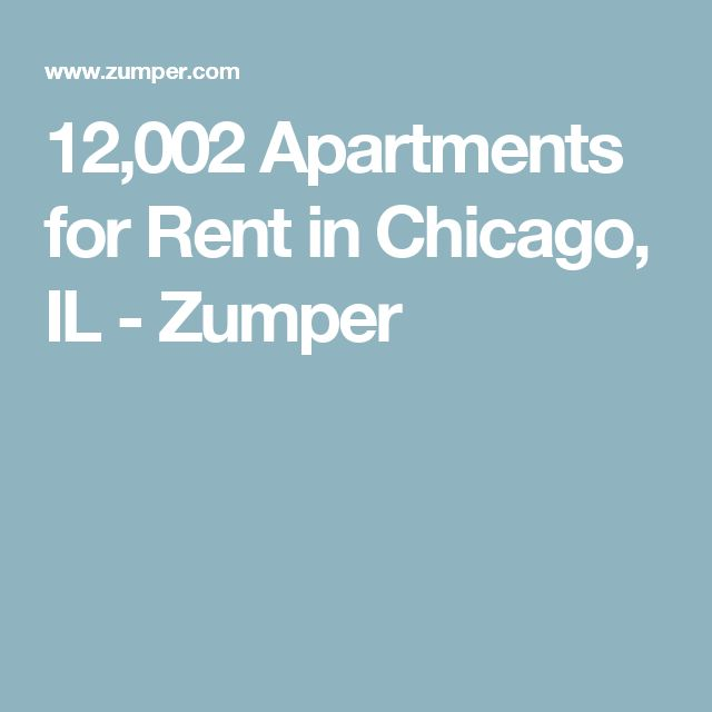 12,002 Apartments for Rent in Chicago, IL - Zumper