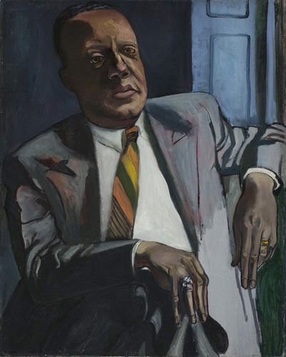 Horace Clayton, oil on canvas, 30-1/6 x 24 in.