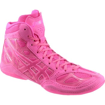 Pink Wrestling Shoes? :)  think i have to get some too!