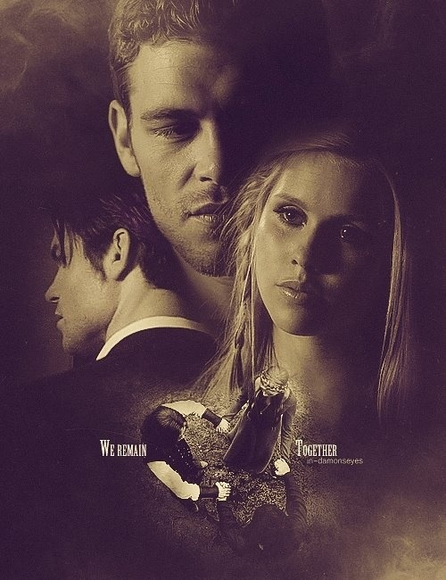 Klaus, Rebekah & Elijah. The remaining Originals. The Vampire Diaries. <3
