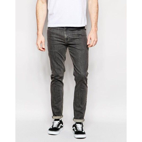 ASOS Skinny Jeans In Mid Grey (2,025 DOP) ❤ liked on Polyvore featuring  men's - Best 25+ Grey Skinny Jeans Mens Ideas On Pinterest Mens